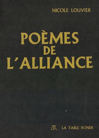 Poèmes de l'alliance