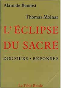 L'éclipse du sacré