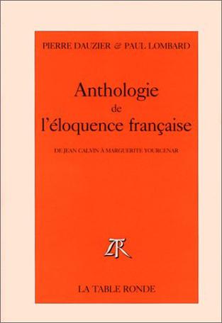 Anthologie de l'éloquence française