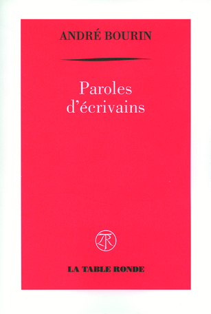 Paroles d'écrivains